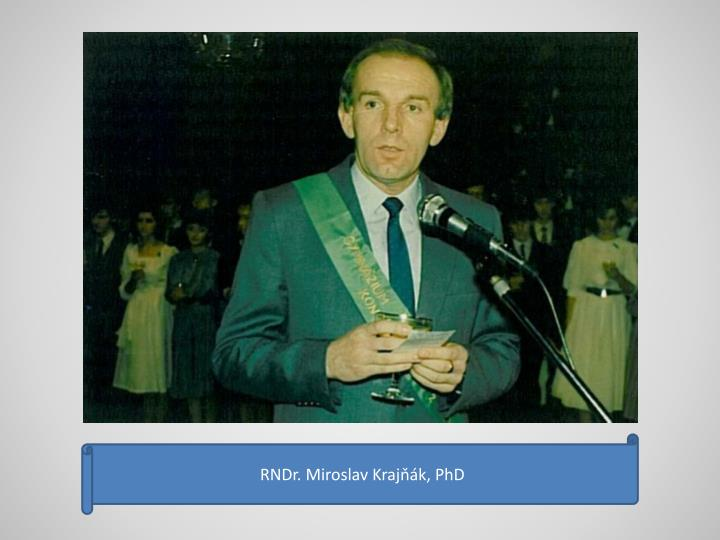 RNDr. Miroslav