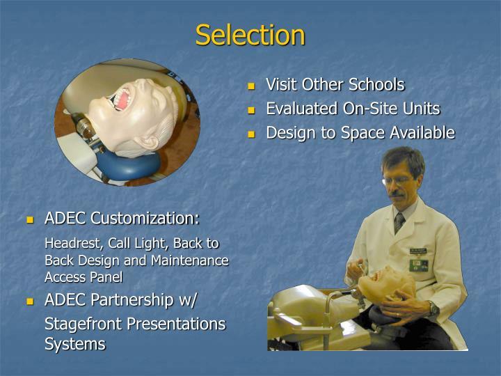 ADEC Customization: