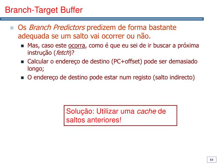Branch-Target Buffer