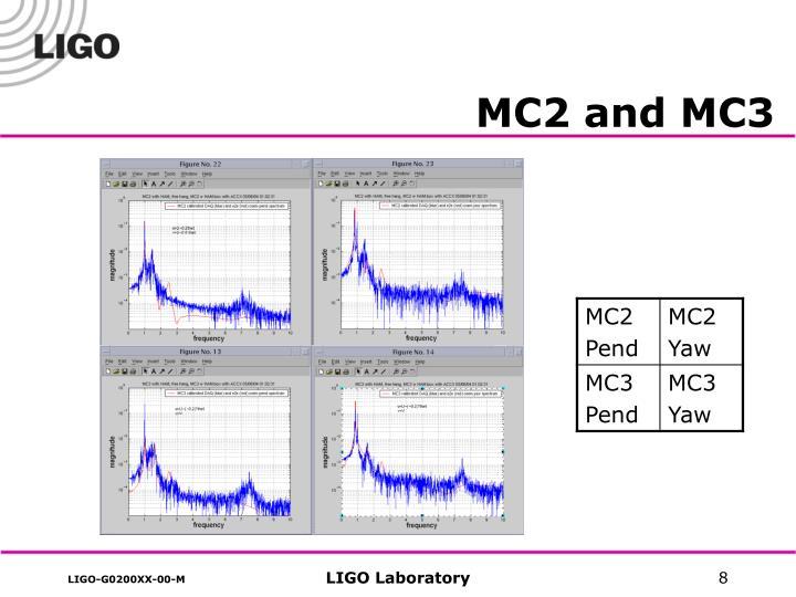 MC2 and MC3