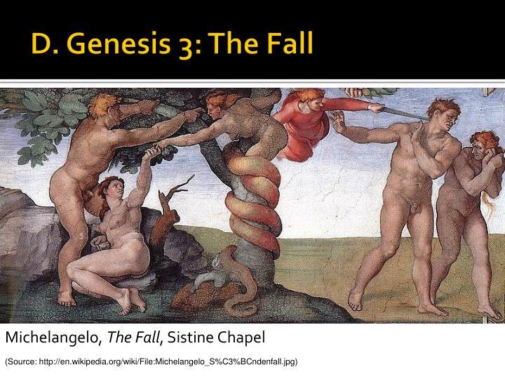 D. Genesis 3: The Fall