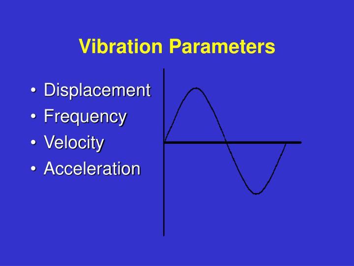 Vibration Parameters