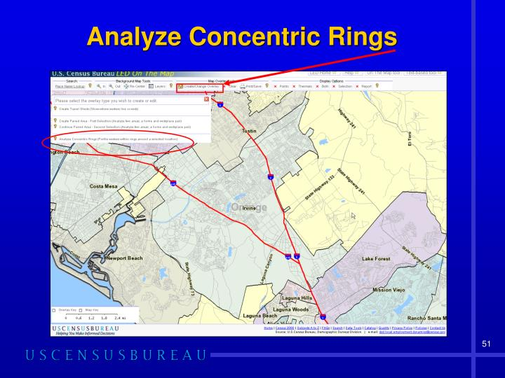 Analyze Concentric Rings