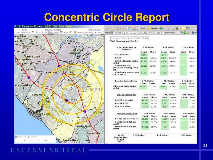 Concentric Circle Report