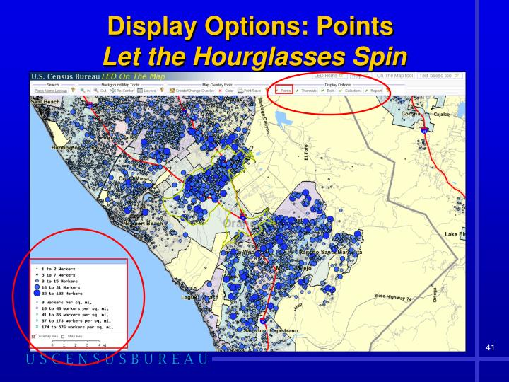 Display Options: Points