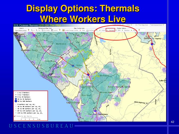 Display Options: Thermals