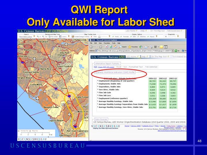 QWI Report