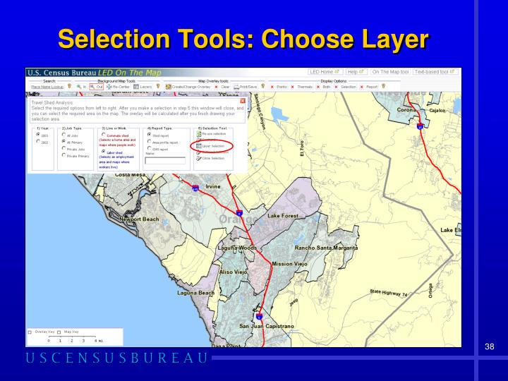 Selection Tools: Choose Layer