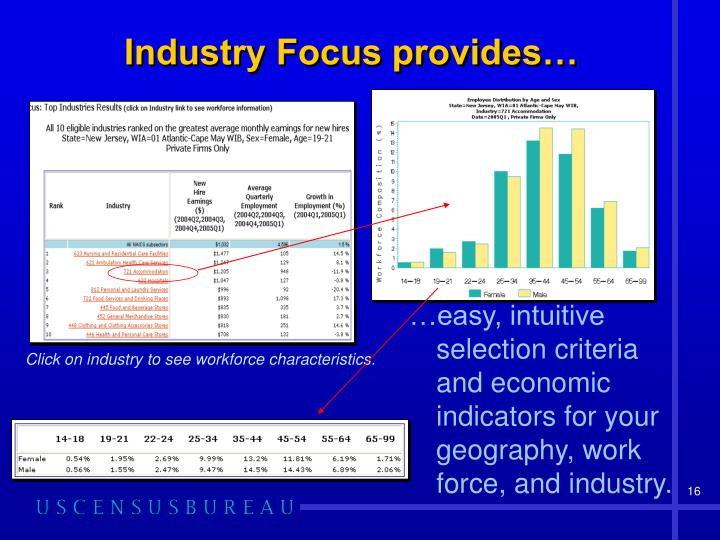 Industry Focus provides…