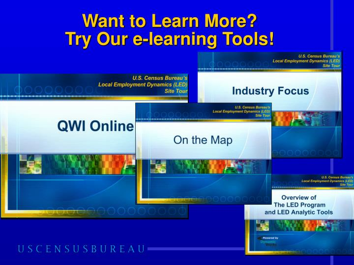Want to Learn More?