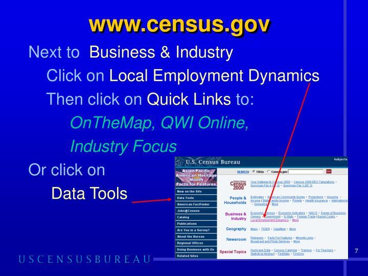 www.census.gov