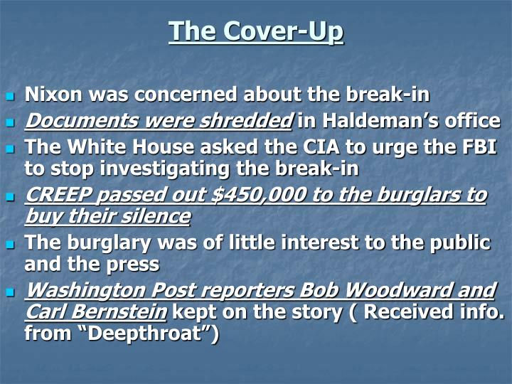 ppt chapter 24 section 1 the nixon administration