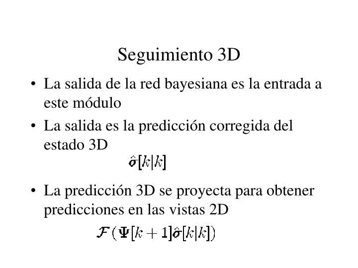 Seguimiento 3D