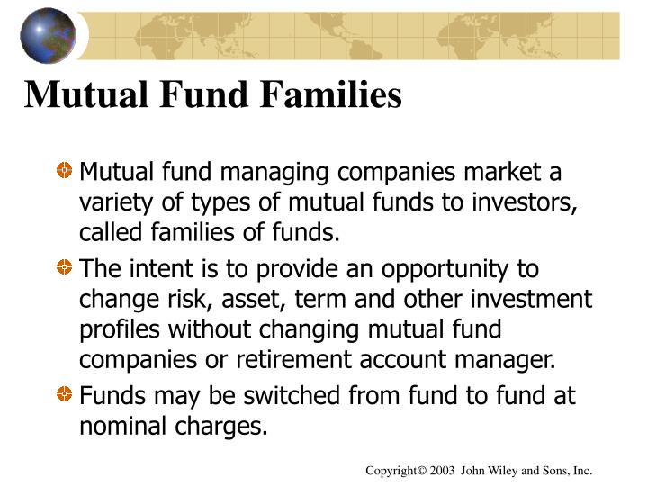 Mutual Fund Families