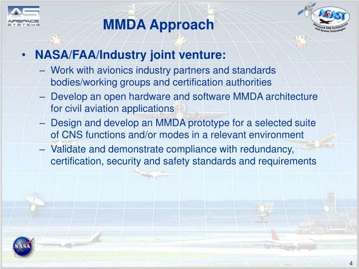 MMDA Approach