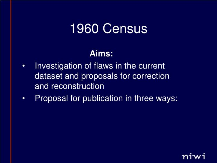 1960 Census