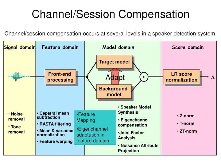 Channel/Session Compensation