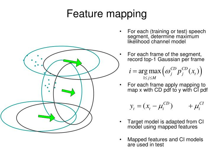 Feature mapping