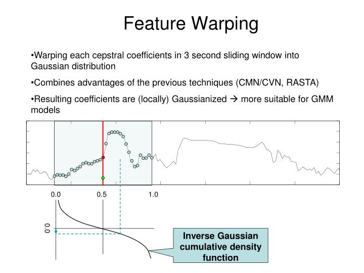 Feature Warping