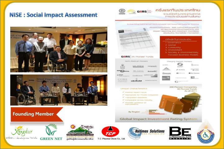 NISE : Social Impact Assessment