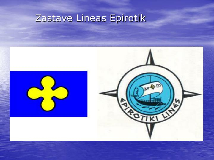 Zastave Lineas Epirotik