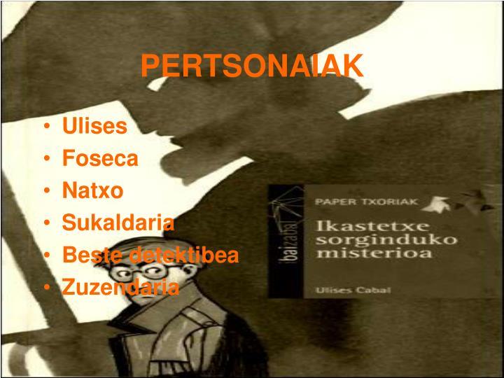 PERTSONAIAK