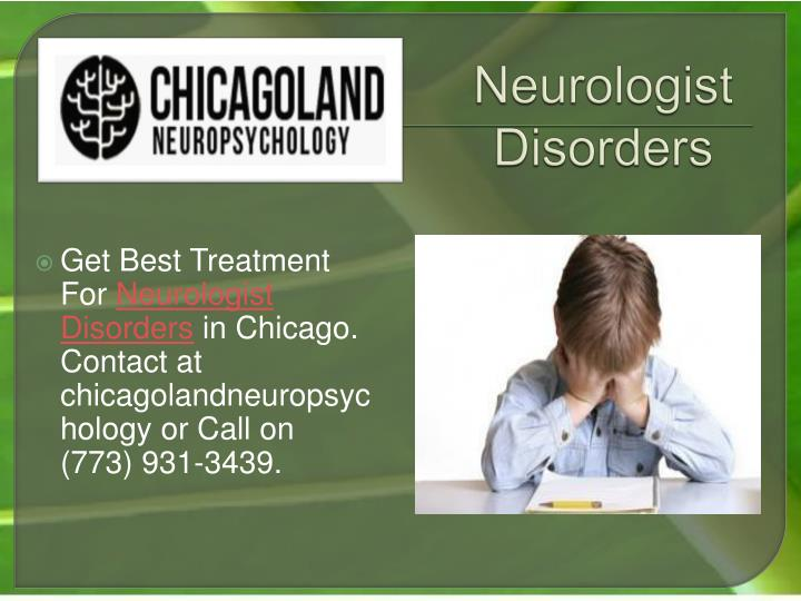 Neurologist disorders