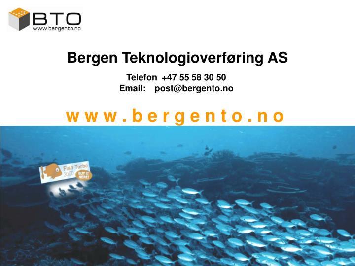 Bergen Teknologioverføring AS