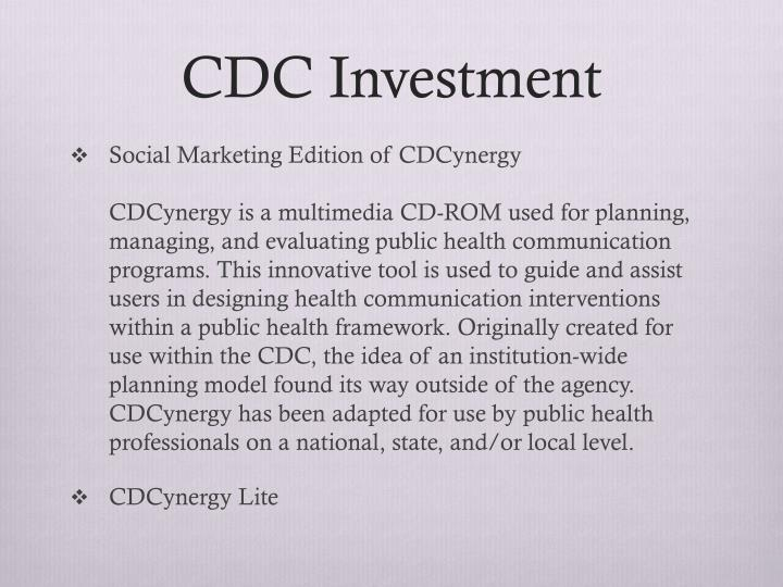 CDC Investment