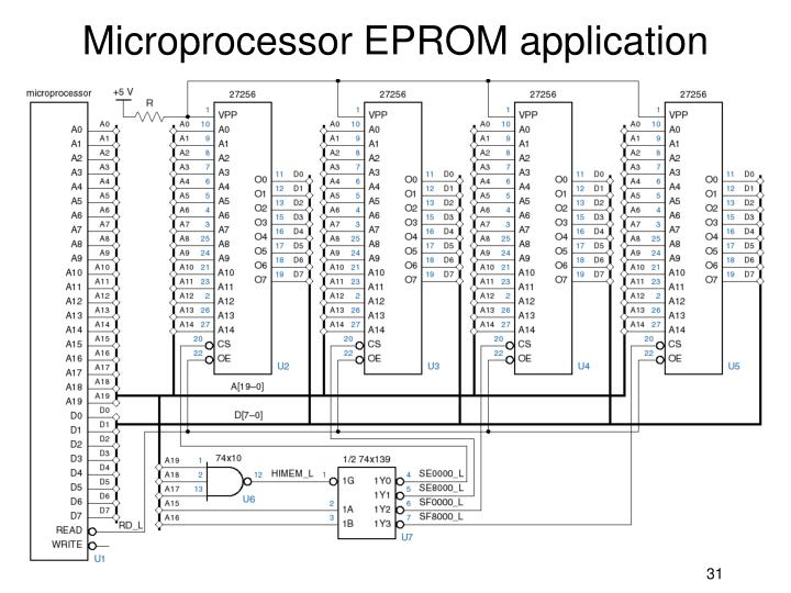 Microprocessor EPROM application