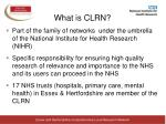 what is clrn