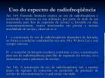 uso do espectro de radiofreq ncia1