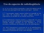 uso do espectro de radiofreq ncia2