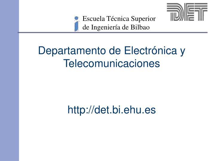 Escuela Técnica Superior de Ingeniería de Bilbao