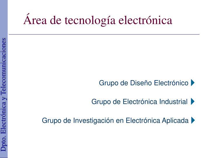 Grupo de Diseño Electrónico