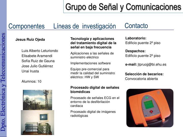 Grupo de Señal y Comunicaciones