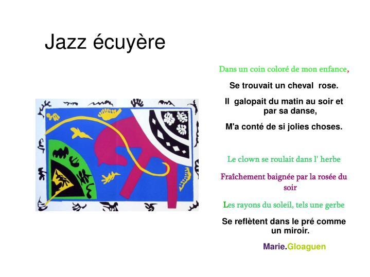Jazz écuyère