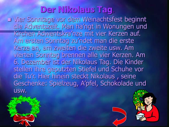 Der Nikolaus Tag