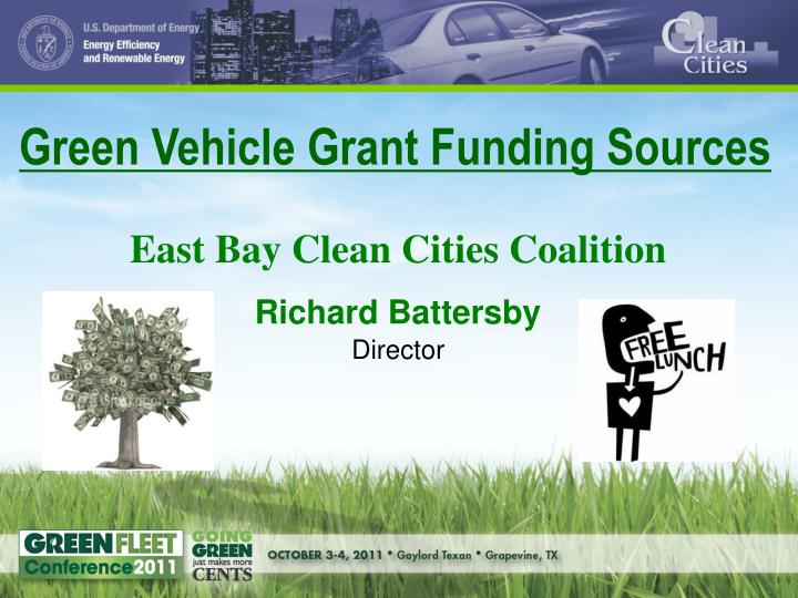 Green Vehicle Grant Funding Sources