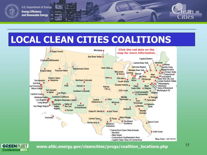 LOCAL CLEAN CITIES COALITIONS