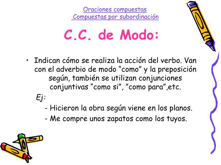 C.C. de Modo: