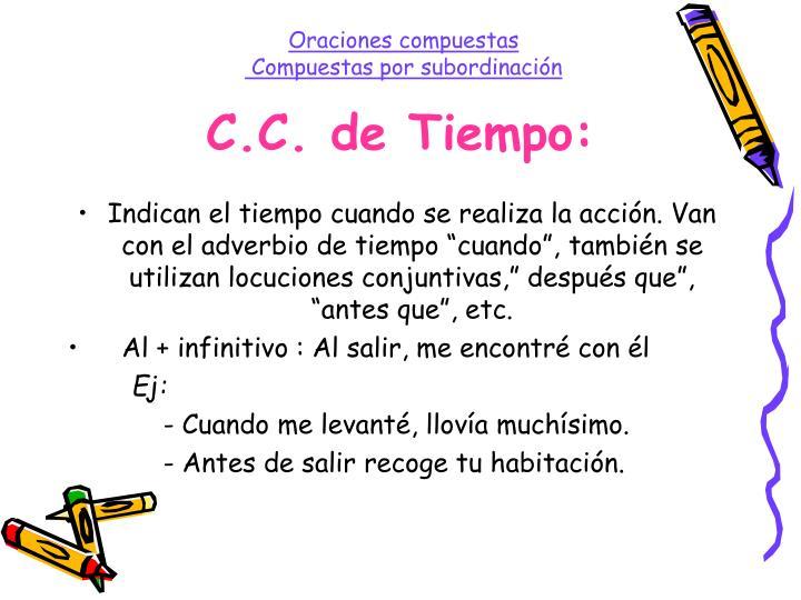 C.C. de Tiempo: