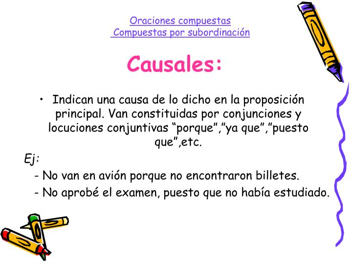 Causales:
