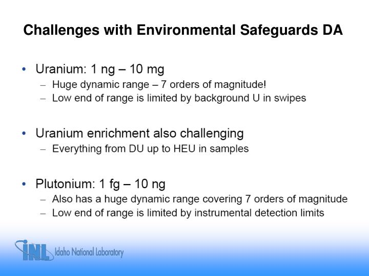 Challenges with Environmental Safeguards DA