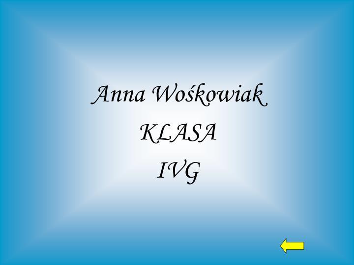 Anna Wośkowiak
