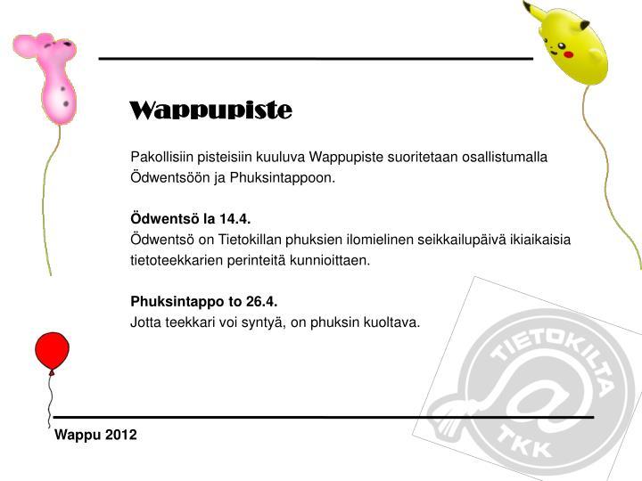 Wappupiste