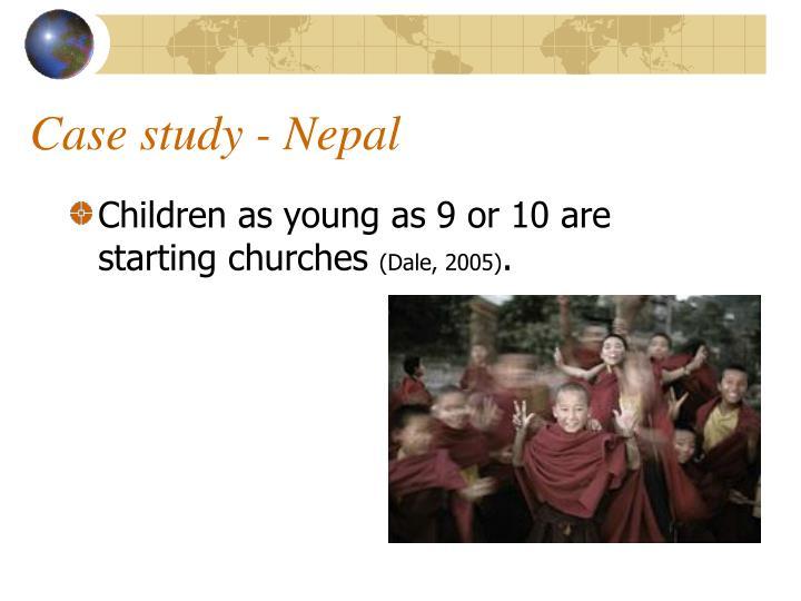 Case study - Nepal