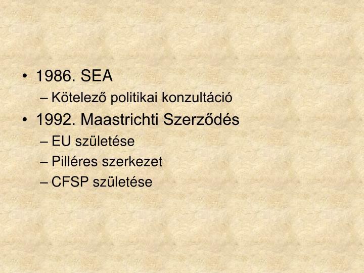 1986. SEA
