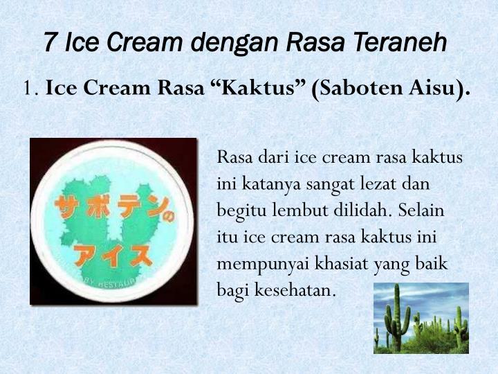7 Ice Cream