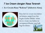 7 ice cream dengan rasa teraneh